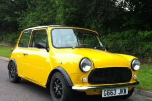 1990 Austin Mini 998 CLASSIC FULLY REBUILT AND RESTORED BUMBLE BEE