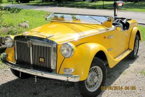 Fiat : Other Siata Spring Roadster MK1