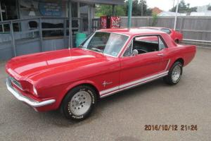 Ford : Mustang red