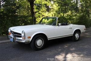 Mercedes-Benz : SL-Class 280SL Pagoda Roadster. RARE 4 SPEED. Gorgeous!