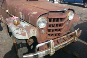 Willys : Sedan Delivery Truck