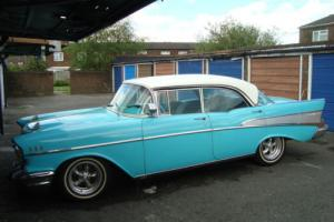 Chevy Bel Air Pillarless 4 Door