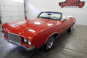 Oldsmobile : Cutlass Runs Drives Nice Top Body Interior VGood 350V8