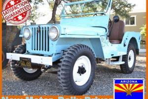 Willys : Other CJ2a