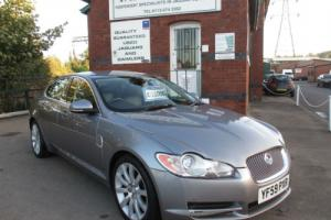 2009 `59 Jaguar XF Luxary 3.0d Auto Lunar Grey & Warm Charcoal, One Driver Owner