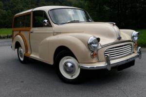 1971 Morris Minor Traveller, 5 years since nut and bolt rebuild , dry stored