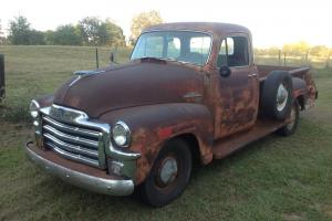 vintage pickup rat rod unrestored hydramatic