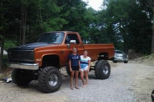 GMC trucks,show truck,lifted truck, 454 big block,1986