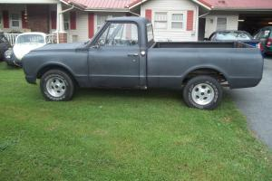 67 thru 72 gmc short bed truck, V8  3 spd