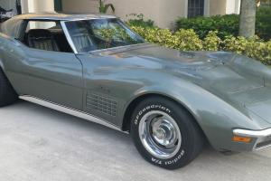 1971 Corvette 454 Survivor! Documentation and Receipts Photo