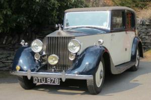 1937 Rolls-Royce 25/30 Barker Saloon GRO6  Photo