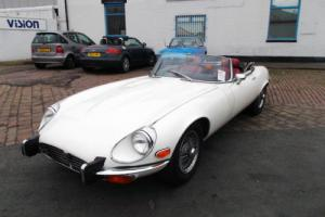 1973 JAGUAR E-TYPE ROADSTER S3 V12 AUTO £26950