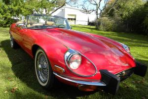 Jaguar : E-Type Roadster Photo