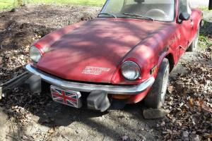 Triumph : Spitfire Convertible Photo