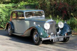 1939 Bentley Overdrive Park Ward Saloon B83MX