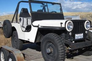 Willys CJ with tailgate