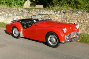 Triumph TR3A - Original UK RHD - Lovely Condition