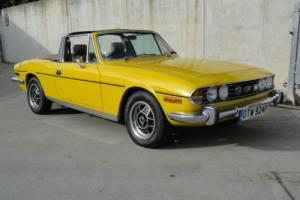 Triumph Stag 1976-nice example -manual withO/D Photo