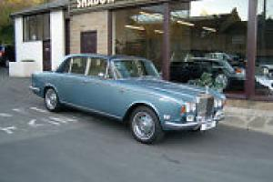 rolls royce shadow, white with gold flying lady,FULL MOT