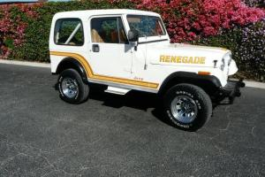 Jeep : CJ 7 Renegade Hard top Hard doors