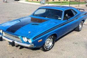 Dodge : Challenger 360 V8 727 RT Stripes B5 Blue