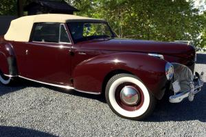 Lincoln : Continental Cabriolet