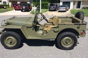 Willys : MA WW2 Prototype military Jeep MA WW2 Prototype military Jeep