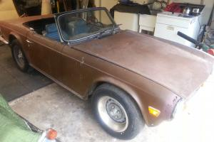 Triumph : TR-6 standard Photo