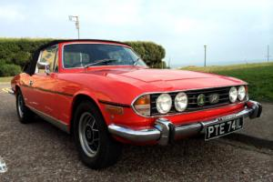 Triumph Stag 3.0 V8 Totally Original Car Tax Exempt Mark 1 43000 miles 1972