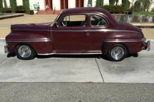 46 MERCURY COUPE--LOADED FLATHEAD--NO RESERVRE !!
