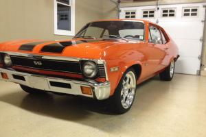 Nice hugger orange 1972 nova Photo