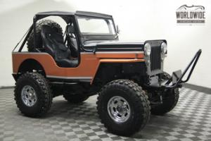 Willys : Jeep CJ3B High Hood