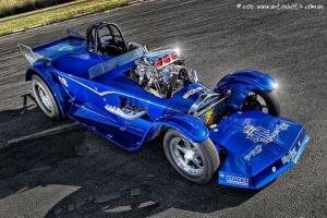 HOT ROD Roadster Drag in Burpengary, QLD