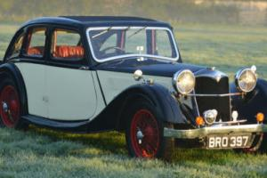 1936 Riley Kestrel 6 light twin cam. Photo