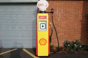 Avery Hardoll Petrol pump from the early fifties