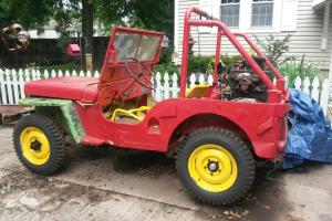 Willys : Jeep CJ2a Original