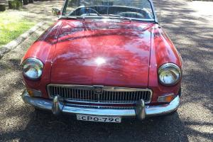 1967 MGB in Dee Why, NSW