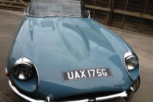 Jaguar E-Type BLUE LHD Photo