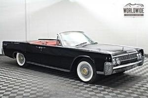 Lincoln : Continental CONTINENTAL CONVERTIBLE