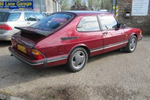 SAAB 900 RUBY TURBO 16 FPT. ONE OWNER AND LOW MILEAGE