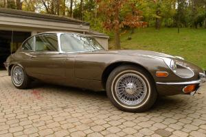 Jaguar : E-Type all original V12 manual Photo