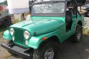 Willys : JEEP CJ-5 BIMINI TOP- RUSTFREE WESTERN CLIMATE-READY TO GO!