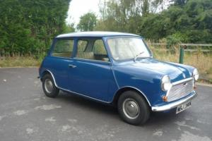 1972 Morris Mini 850 with just 18,000 miles and 1 careful lady owner