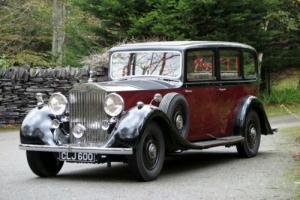 1936 Rolls-Royce Phantom III Hooper Limousine 3AZ146 Photo
