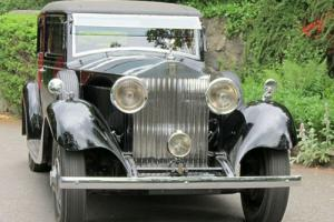 1934 Rolls-Royce 20/25 Barker Saloon GGA75 Photo