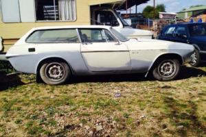 VOLVO 1800es 1974 barn find partly restored