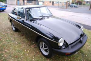 MG B GT 1.8 OVERDRIVE RUBBER BUMPER BLACK GOOD CONDITION LONG MOT