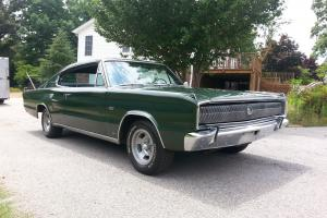 Dodge : Charger nice original bucket seat interior