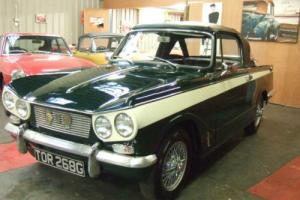 Triumph Vitesse Convertible 2.0 1969 Photo