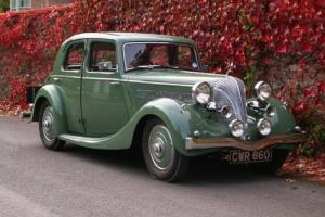1937 Triumph Dolomite Short Chassis Saloon Photo